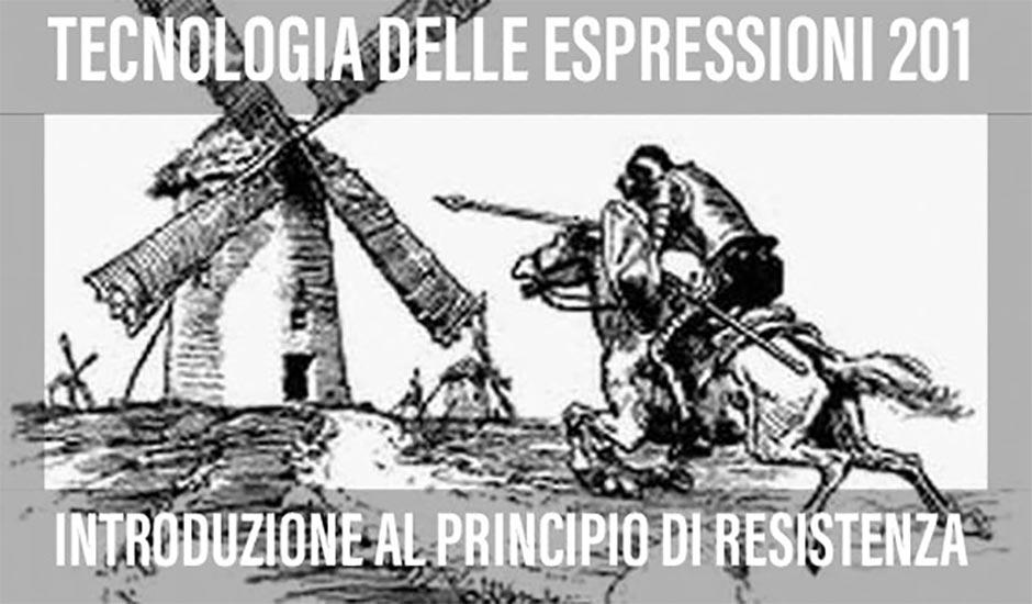 INTRODUZIONE AL PRINCIPIO DI RESISTENZA